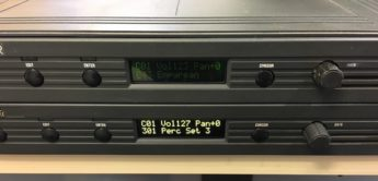 Display-Upgrade für E-MU Proteus