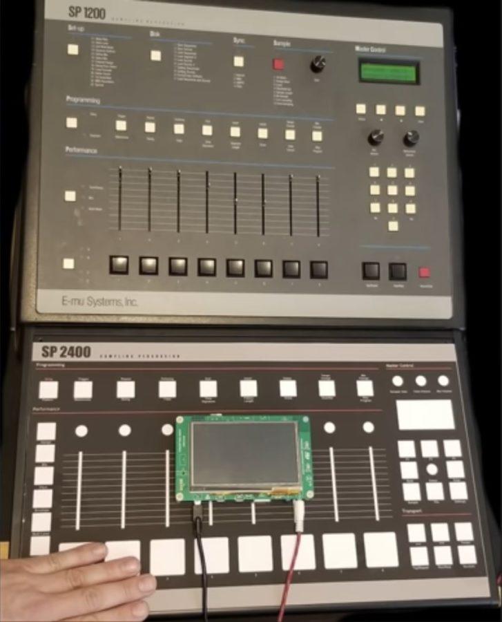 Größenvergleich E-MU SP 1200 vs. SP 2400 - Quelle: fluxwithit