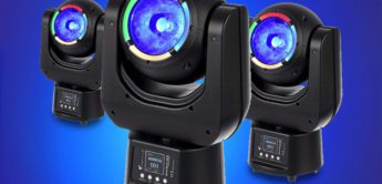 Test: Stairville Bowl Beam 604Z Wash Moving Head