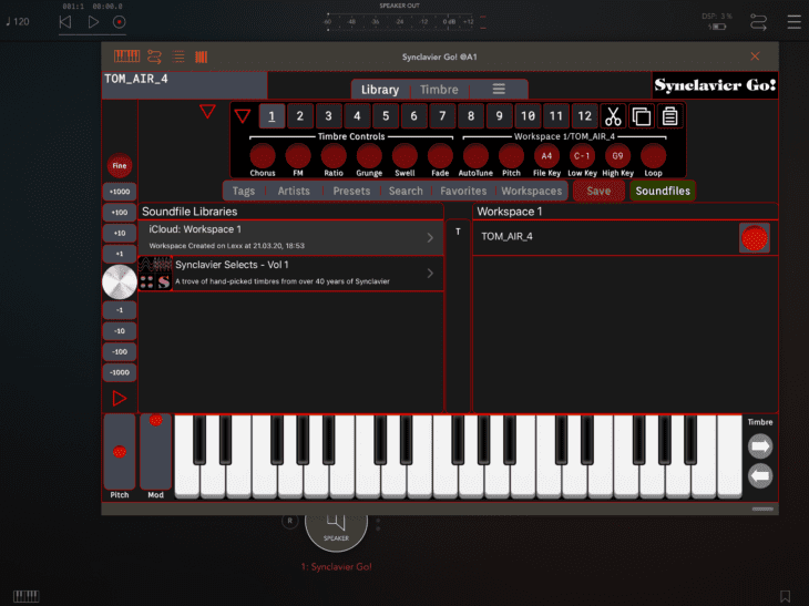 Synclavier Digital Synclavier Go 13 - AUv3 - Soundfiles