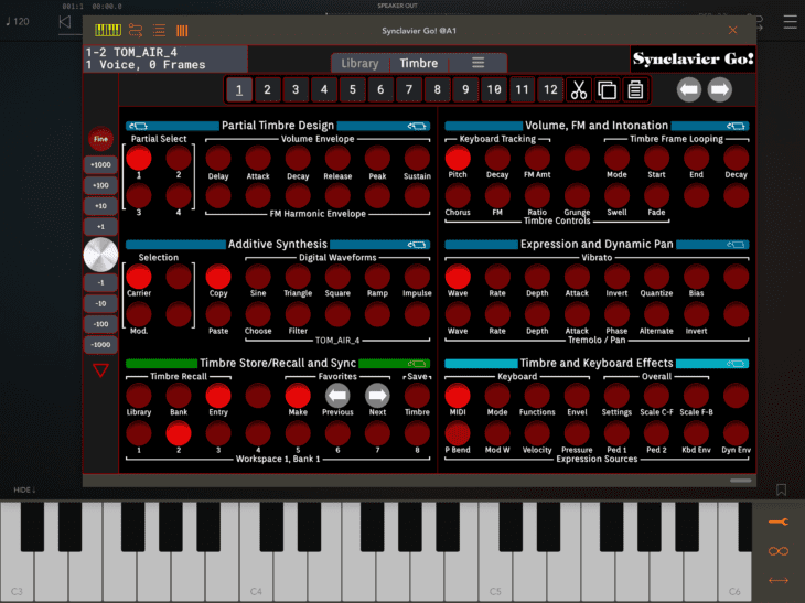 Synclavier Digital Synclavier Go 13 - AUv3 TImbre