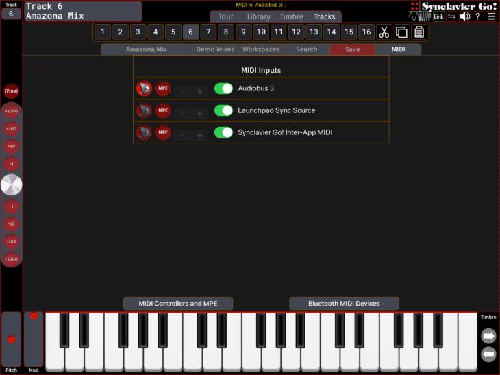 Synclavier Digital Synclavier Go 13 - MIDI