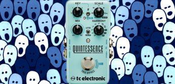 Test: TC Electronic Quintessence, Gitarren Harmonizer Pedal