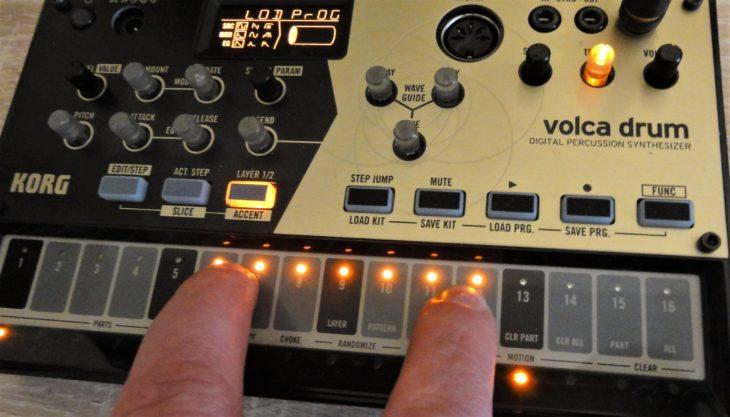 Korg Volca Drum Chain