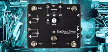 Test: EarthQuaker Devices Swiss Things, Gitarren Switcher Pedal