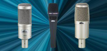 Test: Heil Sound PR30, PR35, PR40, Tauchspulenmikrofone
