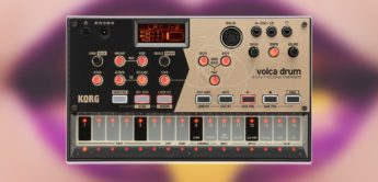 Test: Korg Volca Drum, Drumsynthesizer