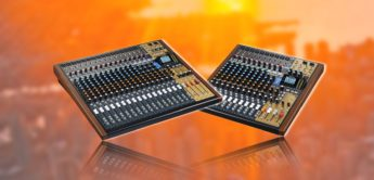 Test: Tascam Model 24, Model 16, Mischpult mit Multitrack-Recorder