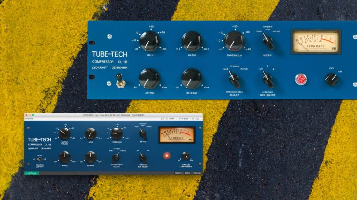 tube tech cl1b softube