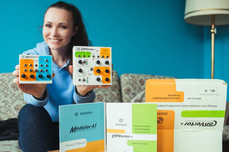 Amazona Winner: Sonicsmith Converter+ , A1 Modulor