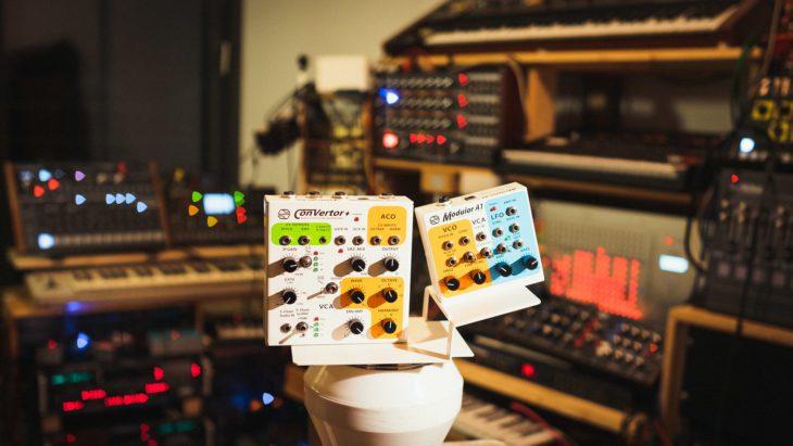 Sonicsmith Converter+ , A1 Modulor, im Studio