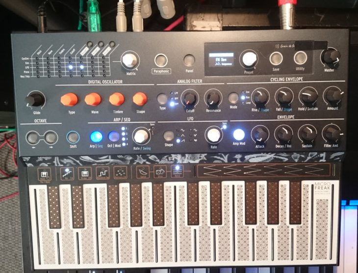 Arturia MicroFreak Hybrid Synthesizer