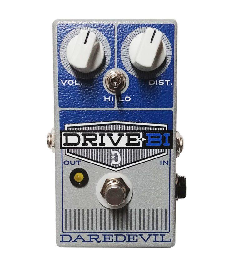 Daredevil Pedals Super Nova V2 Fuzz und Drive-Bi Gain Verzerrer