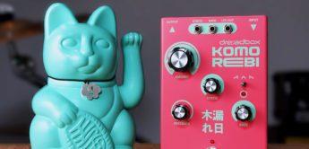 Test: Dreadbox Komorebi, Chorus Pedal für Synth & Gitarre