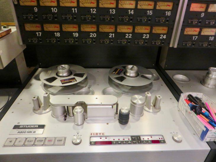 Eine Studer A800MKIII im Hansa Studio. Foto: Costello
