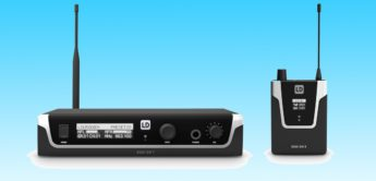LD Systems zeigt U500 In-Ear-Monitoring-Systeme