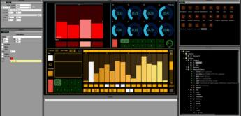 Lemur, Touchscreen Music Controller und Music-App
