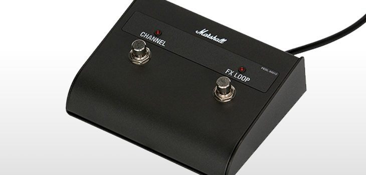 Marshall DSL20CR footswitch