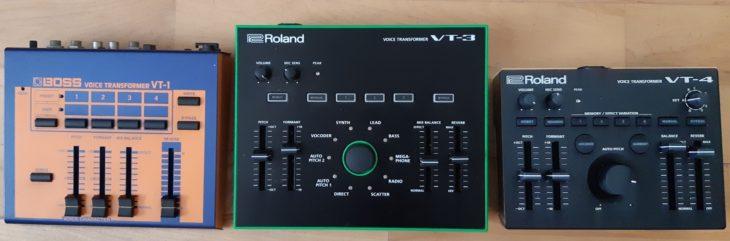 Test: Roland VT-4, Voice Transformer