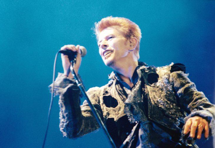 David Bowie bei einem Auftritt im Jahr 1996 auf dem Festival in Balingen
