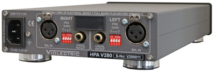 violectric hpa 280v