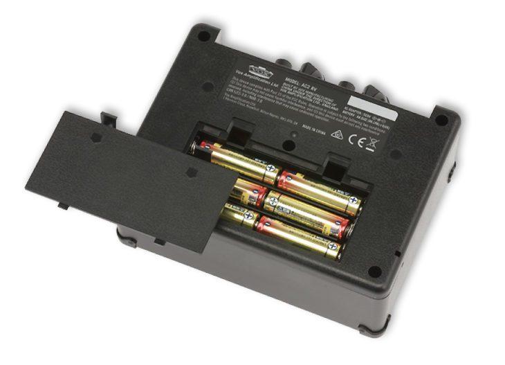 VOX AC2 Batterien