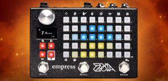 Test: Empress ZOIA, Gitarren Multieffekt Pedal