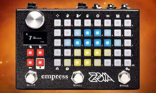 Test: Empress ZOIA, Effektgerät für Gitarre