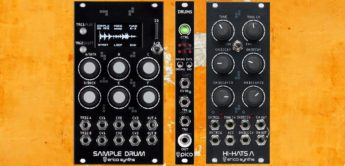 Test: Erica Synths Pico Drums, Sample Drums, Hi-Hats A, Eurorack Drum Module