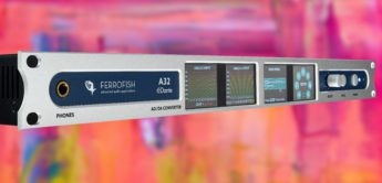 Test: Ferrofish A32 Dante, AD/DA-Wandler