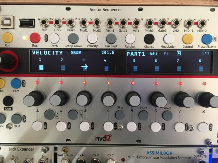 five12 vector sequencer