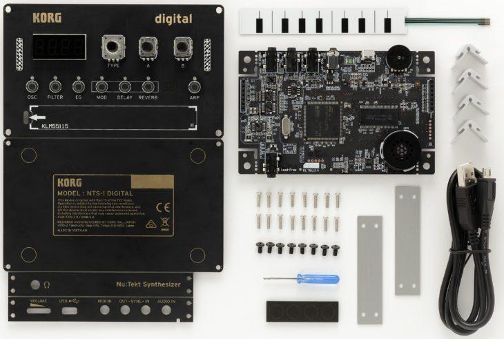 Korg NTS-1 Nu:tekt Digital Kit - Bausatz