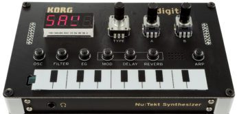 Korg NTS-1 Nu:tekt Digital Kit – DIY Synthesizer