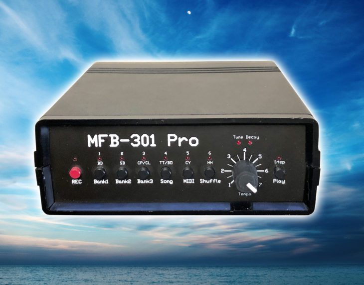 Test: MFB MFB-301 Pro analoge Drum-Machine