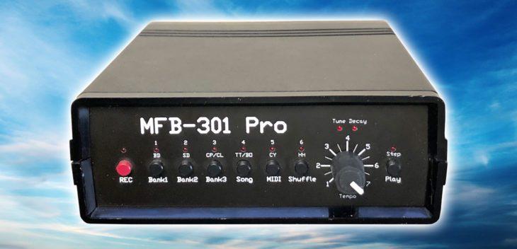 mfb pro 301 drumcomputer