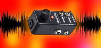 Test: Mooer Audiofile, Gitarren Verstärker-Pedal
