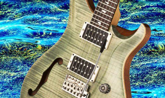 Test: PRS CE 24 Semi Hollow TG, E-Gitarre