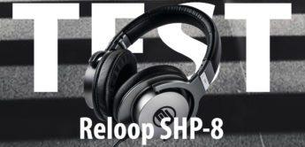Test: Reloop SHP-8, DJ-Kopfhörer