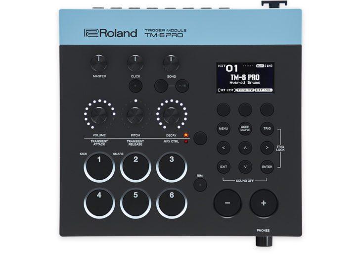roland tm-6 pro rt mics