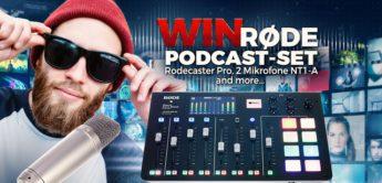 Rode podcast set