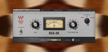 Test: Waves CLA-2A, Compressor Limiter Plugin