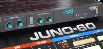 Vergleichstest: Boss CE-300 Super Chorus VS Roland Juno-60 Chorus