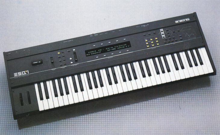 Synthesizer Ensoniq ESQ 1