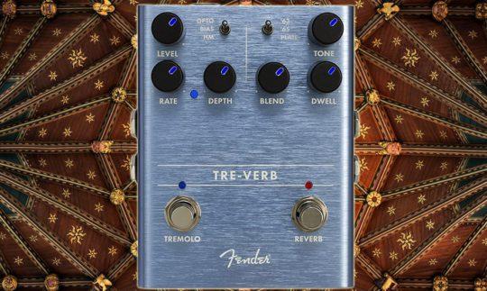 Test: Fender Tre-Verb, Gitarren Hallpedal