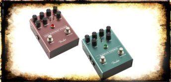 Test: Fender Lost Highway Phaser und Bubbler Chorus, Effektpedale für Gitarre