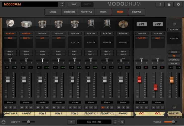 IK Multimedia Modo Drum - Mix