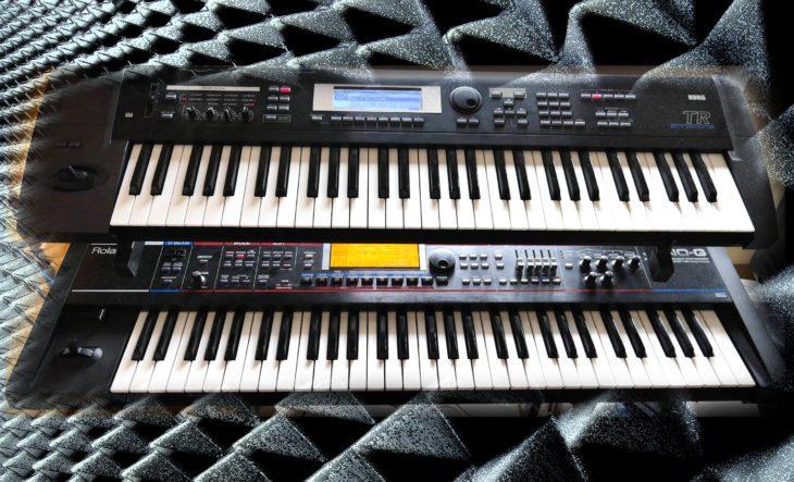 Korg TR-61 vs. Roland Juno-G Sntheiszer für den Live-Einsatz