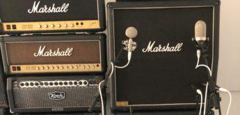 Workshop E-Gitarre: Mikrofonierung von Gitarrenverstärkern