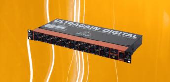 Test: Behringer ADA8200 Ultragain, Mikrofonvorverstärker/Audiointerface