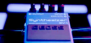 Boss SY-1 Synthesizer Effektpedal